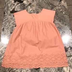 GAP kids blouse with detailed bottom.  Size XL